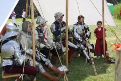 Les chevaliers attendent leur tour