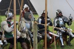 Les chevaliers en armure