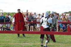 Arbitrage d'un duel à l'épée bâtarde