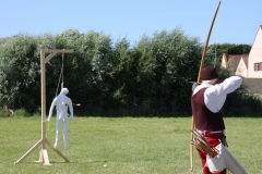 Archerie - Epreuve du pendu
