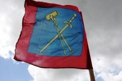 Bannière au vent