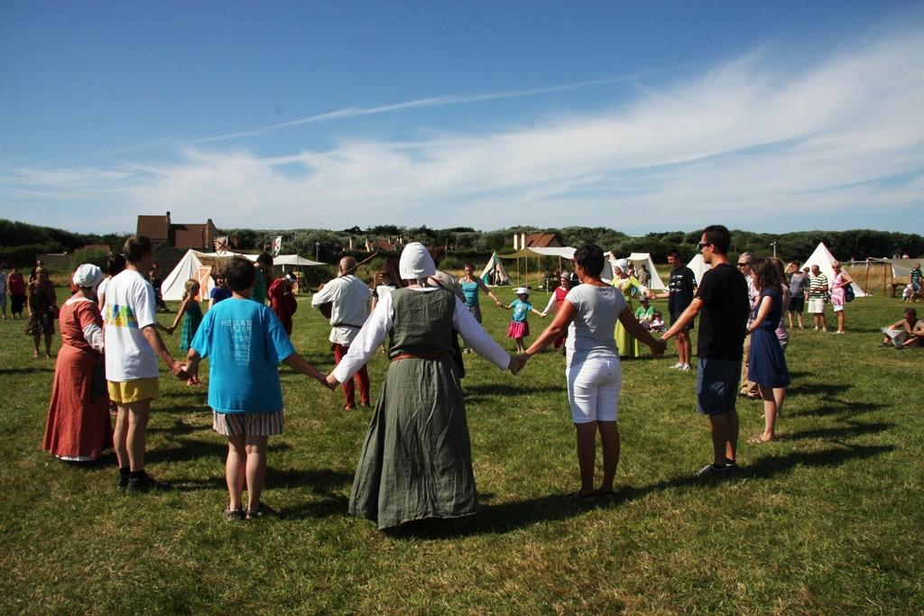 Atelier de danses médiévales avec le public