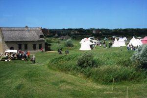 Un camps médiéval au domaine de Walraversijde
