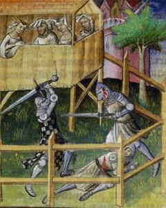 Tournoi du XV à l'épée longue