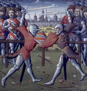 Tournoi du XV à l'épée courte