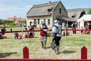 Tournoi de chevaliers à Raversijde